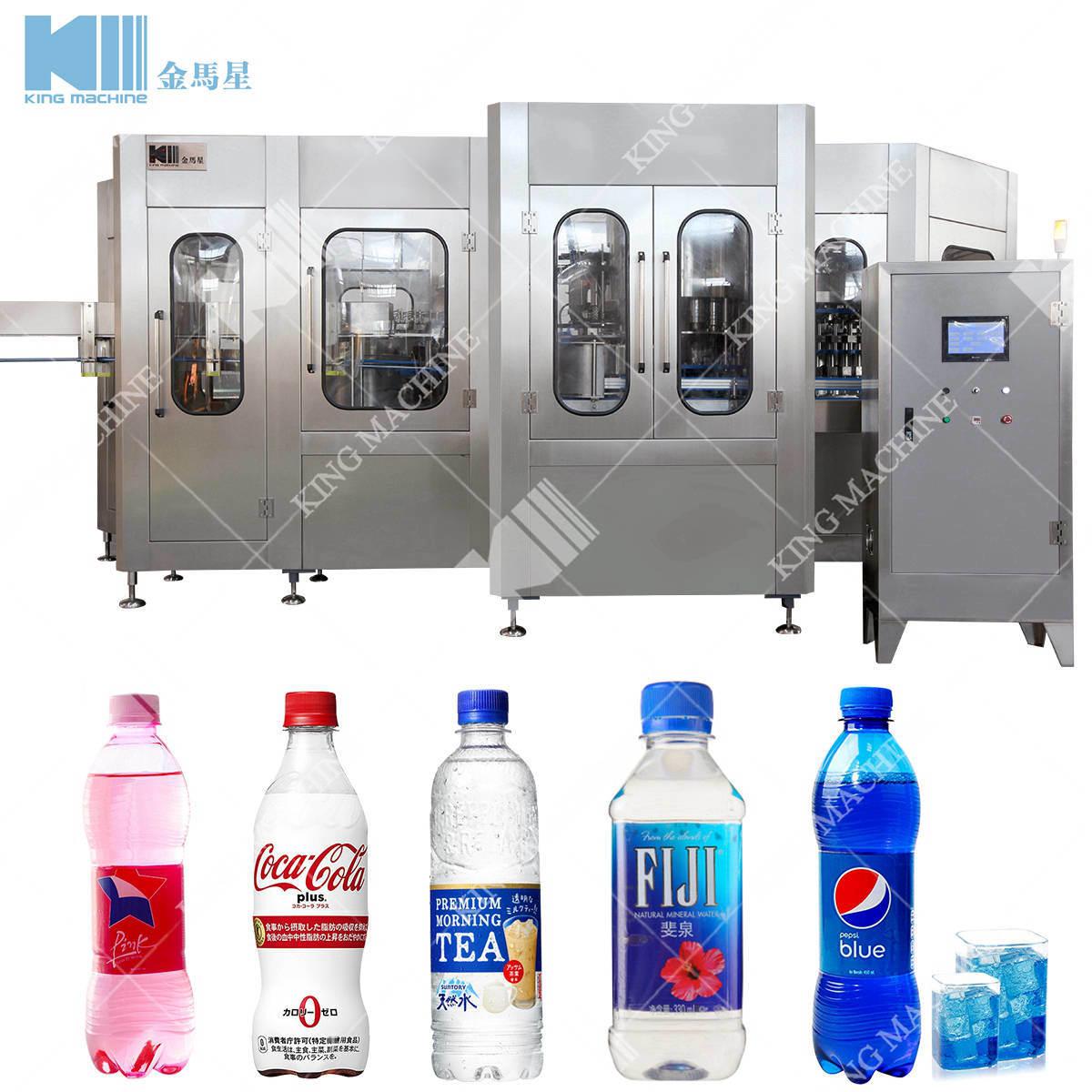 7 up Mirinda Apple Sidra Bottling Packing Machine Plant Price