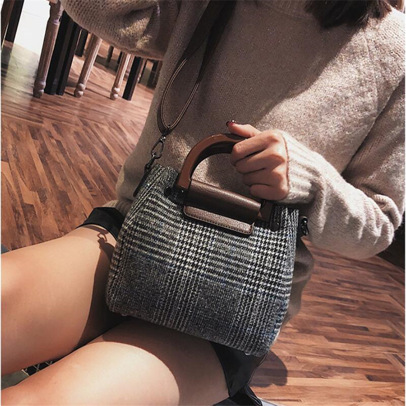a729aa825b New Trendy British Wind Classic Design Leather Handbags for Ladies Without  Any MOQ
