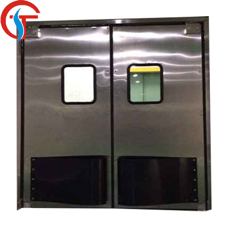 [Hot Item] Food Industry Swing Stainless Steel Traffic Kitchen Doors for  Restaurant