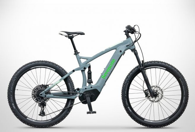 OEM/ODM High Performance Full Suspension Electric Bike with Rock Shox Fork pictures & photos