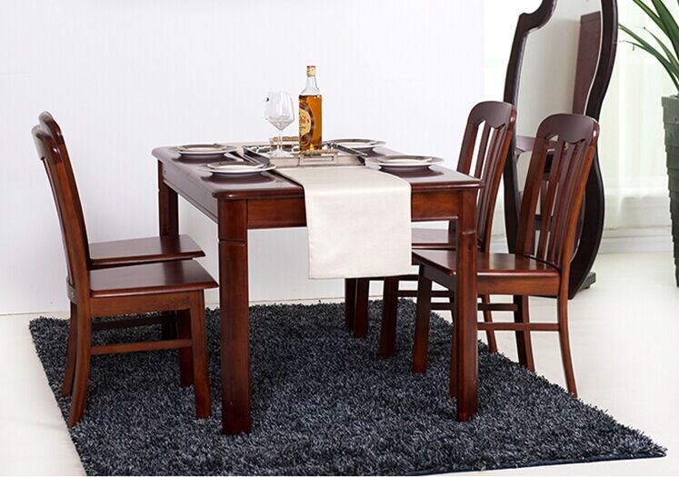 China Modern Simple Dining Table Set Solid Wood Dining Table And Chair China Dining Room Furniture Wood