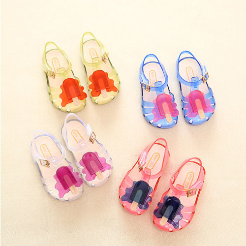 China Jelly Kids Sandals Shoes Soft