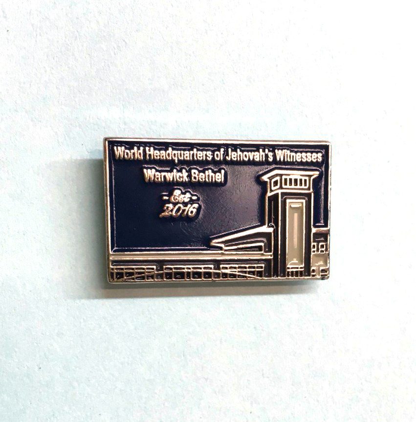 Custom Zinc Alloy Silver Enamel Metal Lapel Pin
