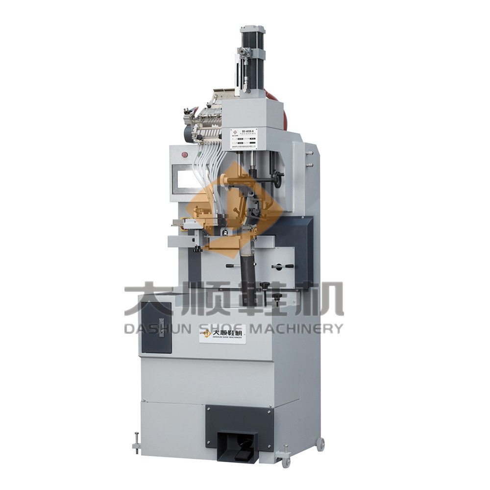 Ds-403A-a Fully Automatic Pneumatic Heel Nailing Machine for Shoe