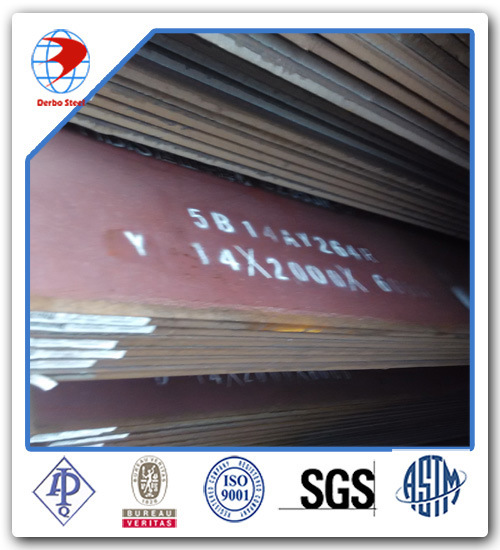 [Hot Item] 1500mm*6000mm*6mm Hot Rolled ASTM A36 Steel Plate M Red Epoxy  Primer and Sand Blasting