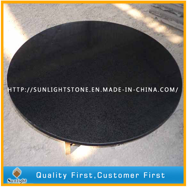 Matt/Honed Surface G684 Black Basalt/Granite Paving Stone pictures & photos