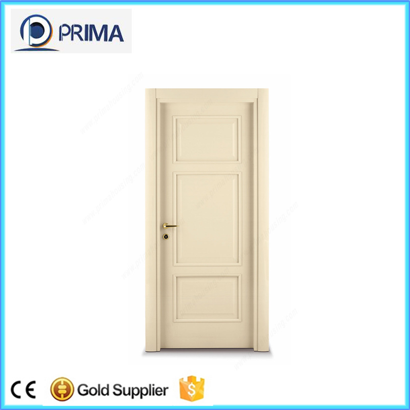 China Cheap Wooden Internal Door 6 Panel Interior Doors with Frame ...