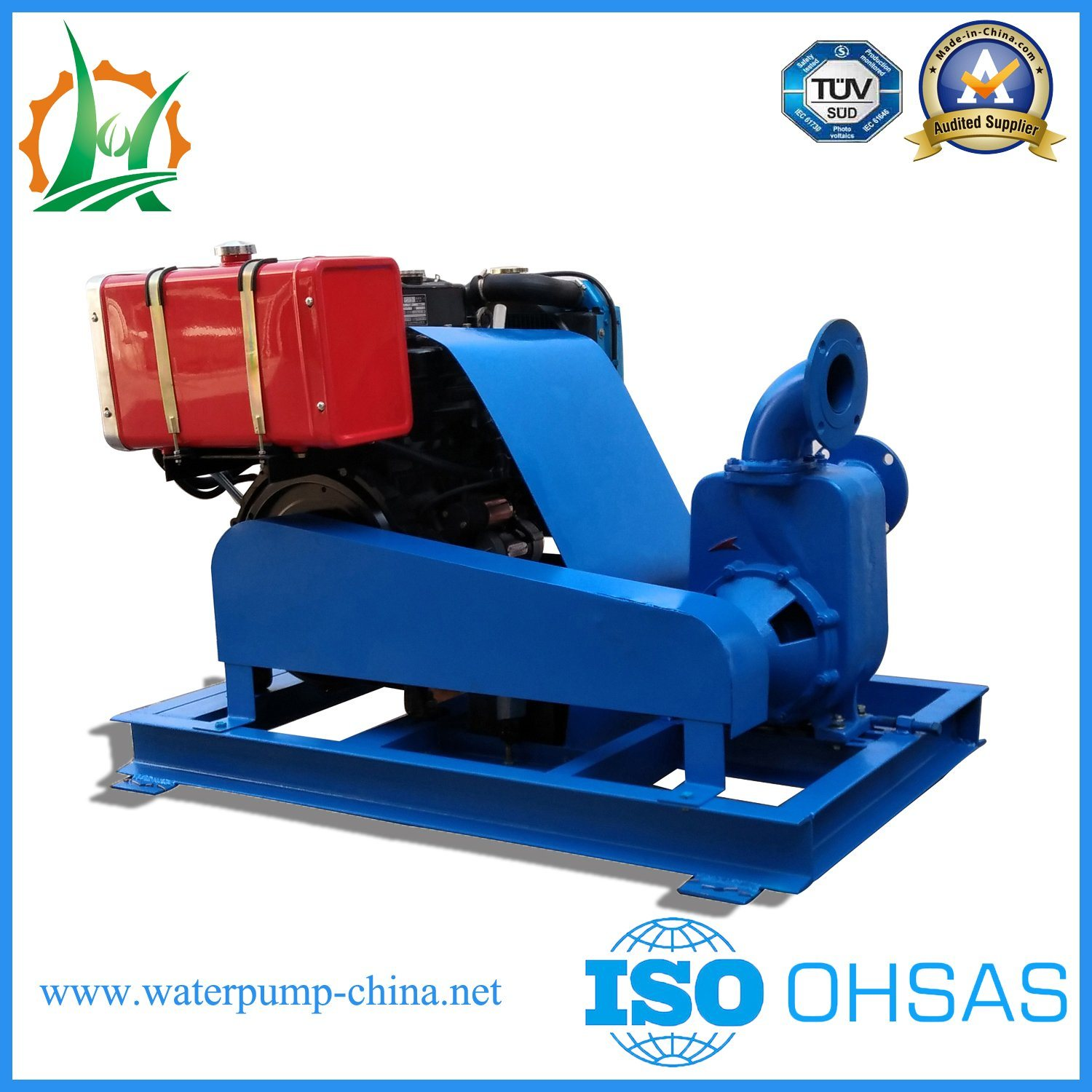 Agricultural Spray Self Priming Pump Unit for Tea Garden Spraying pictures & photos