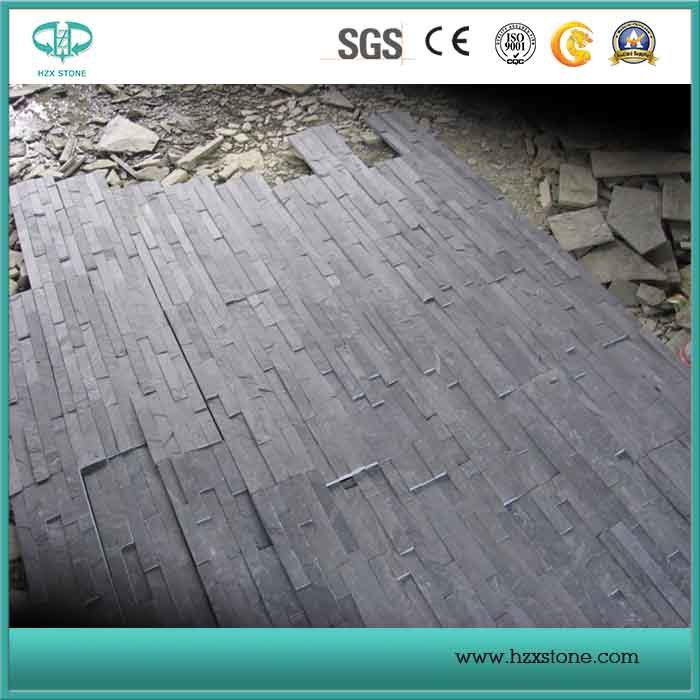 Black Slate/Yellow Wooden Slate/Rusty Slate/Copper Slate/Blue Slate Culture Stone for Wall Cladding pictures & photos