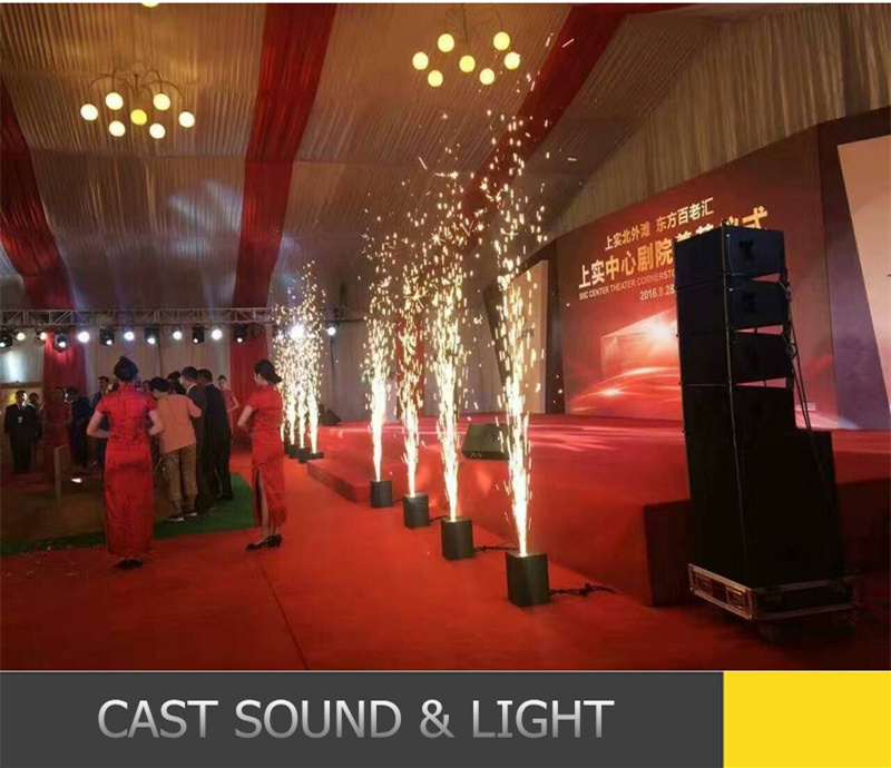 Cool Fire Wedding Decoration Stage Effect Flame Machine DJ Equipment pictures & photos