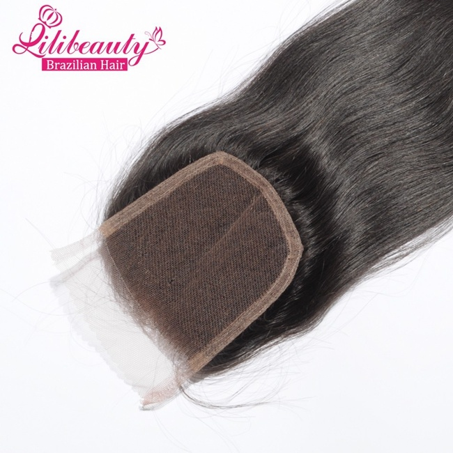 Promotion Price Human Hair All Hand-Tied Brazilian Lace Hair Closure pictures & photos