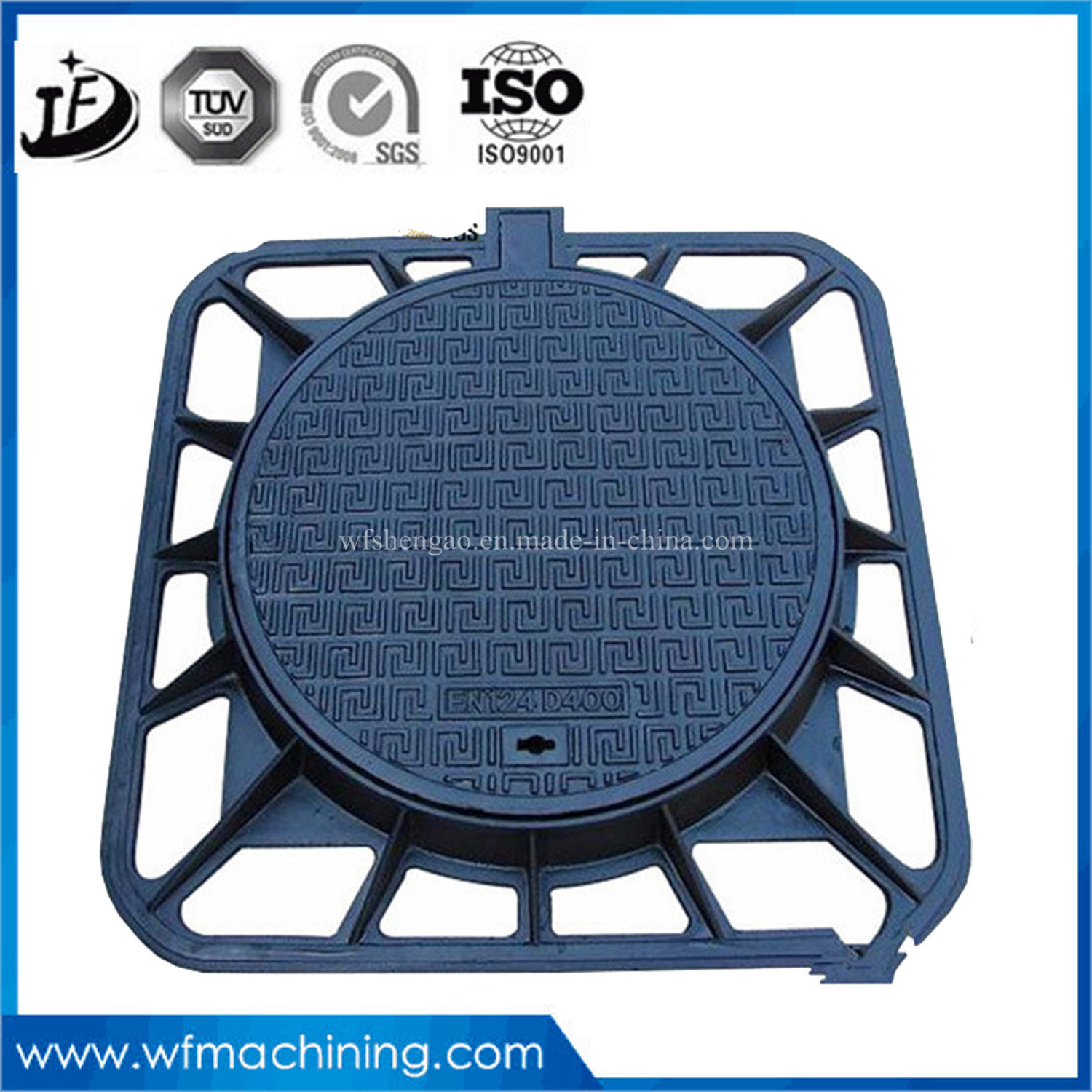 China Cast Iron Drainage/Septic Tank Cover for Round Drain/Hinged ...