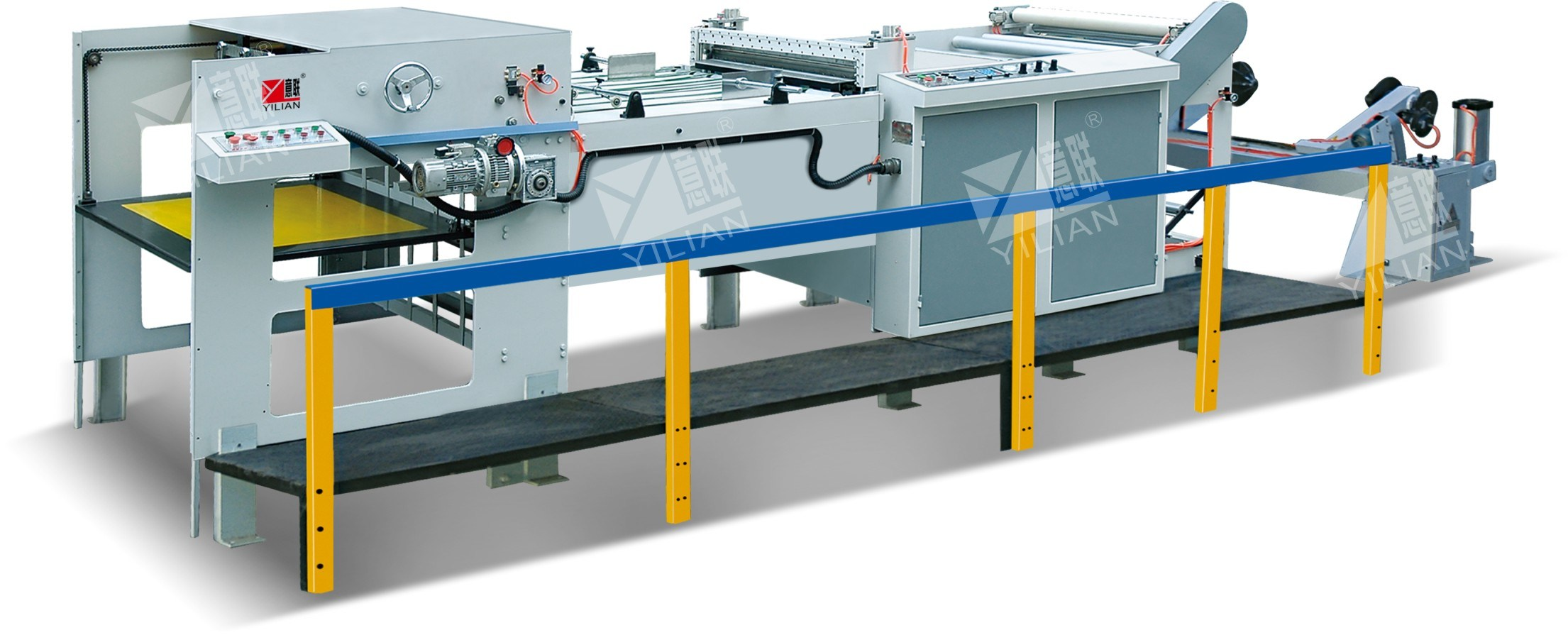 Cross Cutting Machine (QFJ1100-1600) , Paper Sheet Cutter