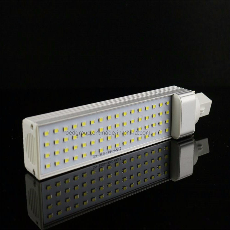 5W 7W 9W 10W 12W 13W SMD5050 LED Pl Lamps with E27 G23 G24 LED Base