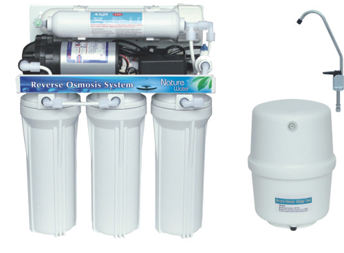 [Hot Item] 5 Stage Reverse Osmosis Water Purifier System with Manual-Flush  for Home Use