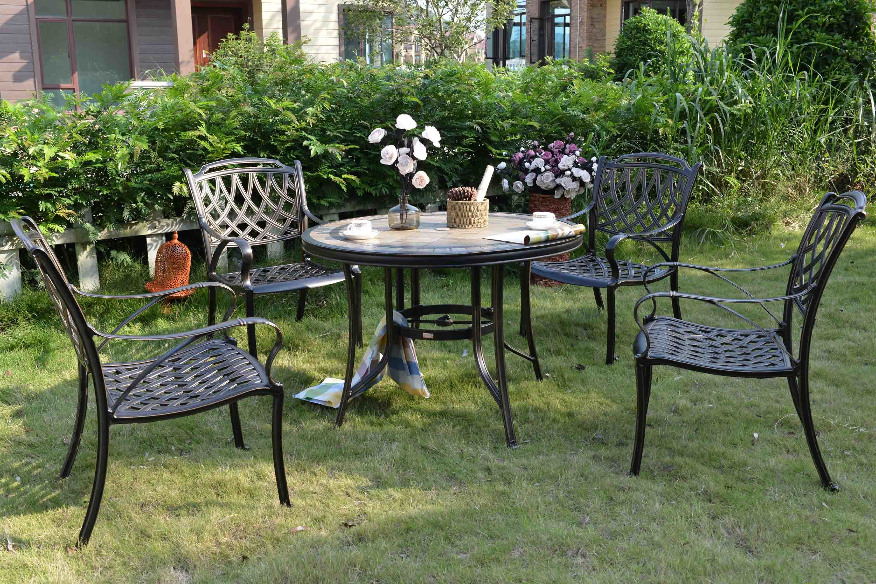 charming chairs outdoor seater on garden metal furniture cranbrook table archived dining cheap rattan diy and departments