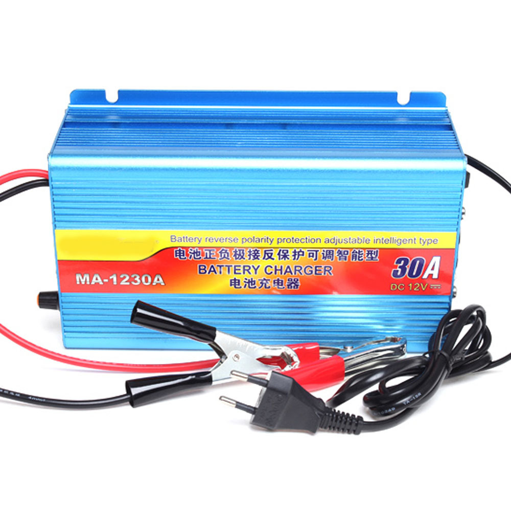China Solar Charger 30a 12v Battery Car Reverse Polarity Protection Intelligent