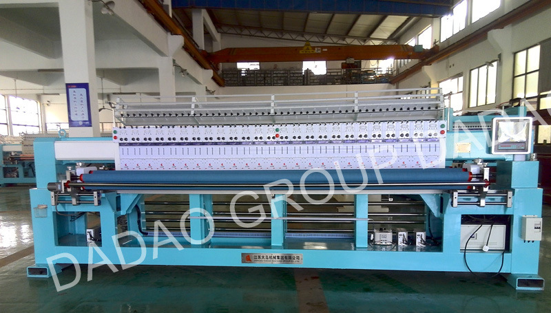 23 Head Quilting Embroidery Machine with 50.8mm Needle Pitch