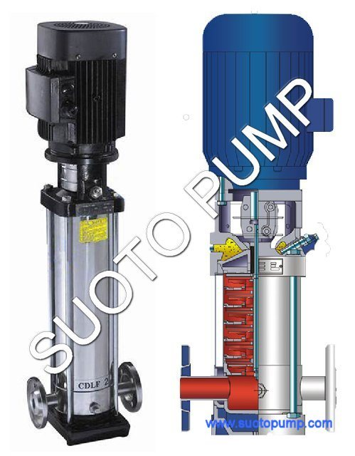 Stainless Steel Vertical Multistage Pump (CDL)
