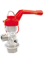 Wheeled Fire Extinguisher Valve in Different Spec