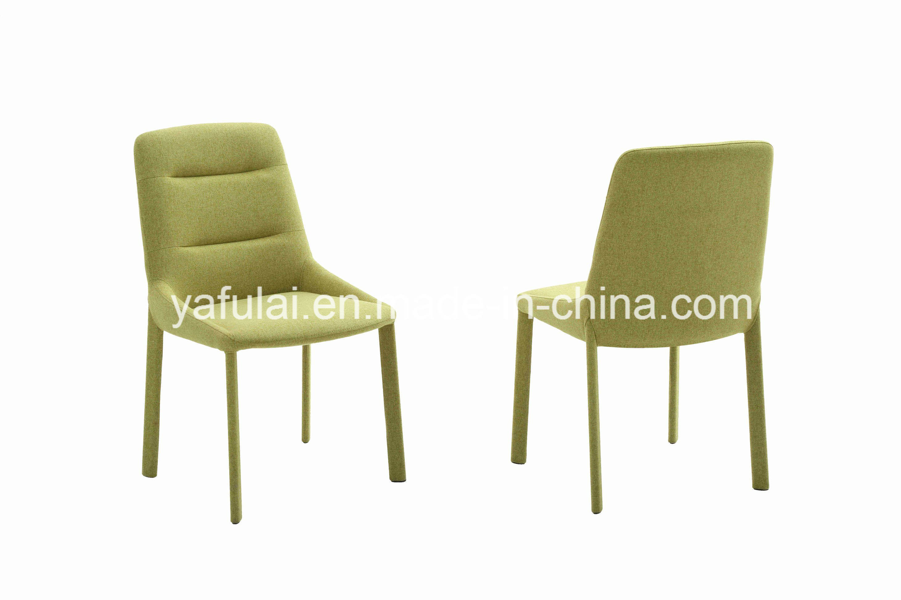 Pleasing Hot Item Modern Green Fabric Dining Chair Covers Restaurant Furniture Creativecarmelina Interior Chair Design Creativecarmelinacom