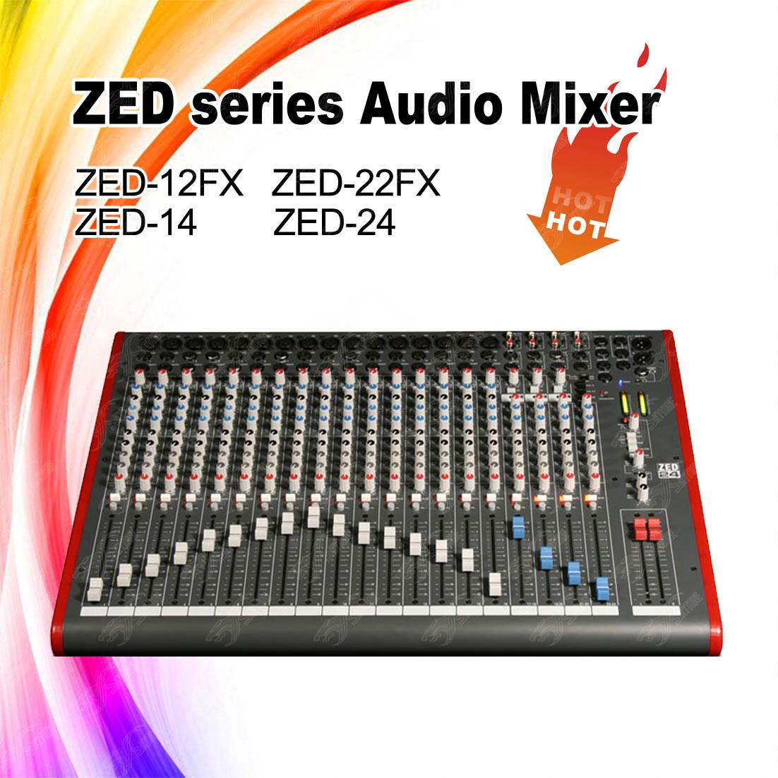 Wholesale Professional Sound Mixer Buy Reliable Channel Audio Circuit Zed 24 Cheap Price Channels Dj