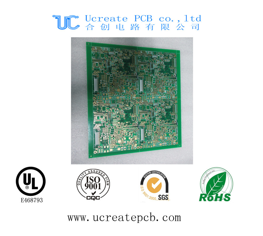 China 94v0 Printed Circuit Board For Cctv Camera With Ce Shenzhen Oem Electronic Manufacturerpcb Pcb Assembly