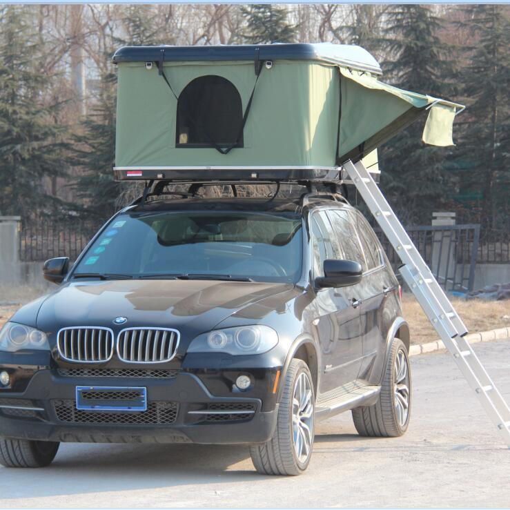Offroad 4x4 Camping Accessories Hard Shell Car Roof Top Tent For Sale