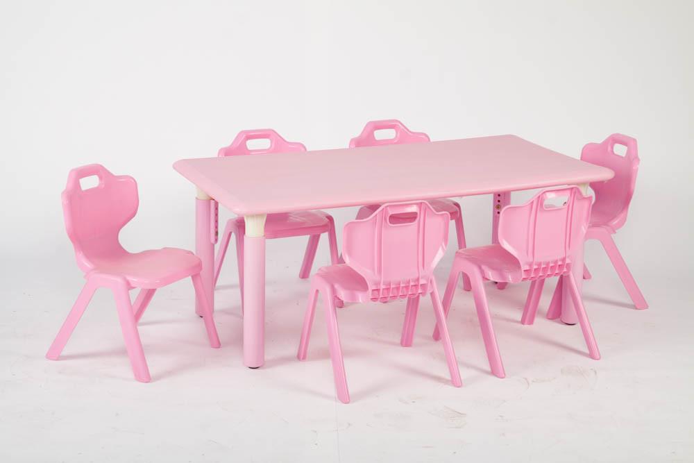 Children Furniture Primary School Desk And Chair