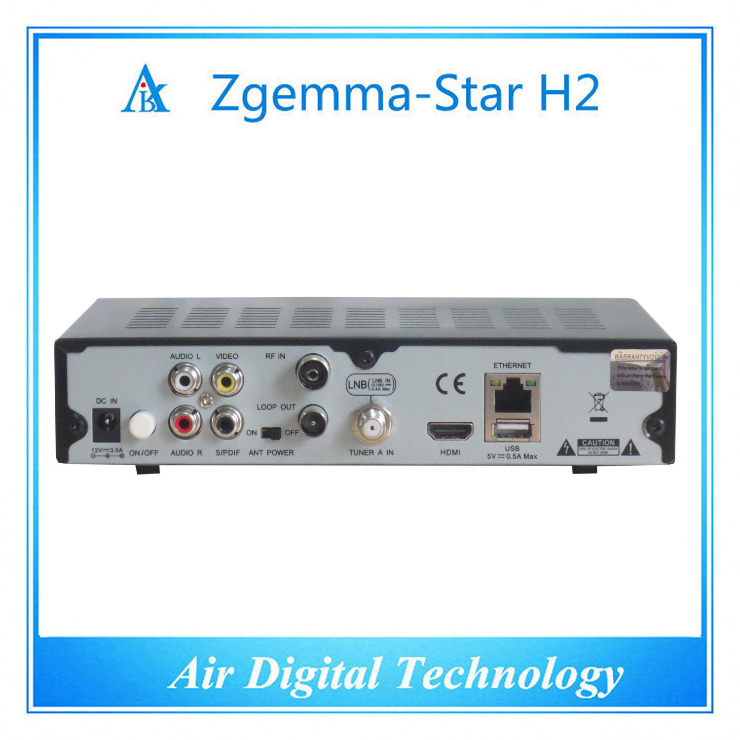 HD DVB S/S2 DVB T/T2 Zgemma-Star H2 pictures & photos