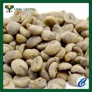 China Arabica Green Coffee Beans Laos Green Bean China Green