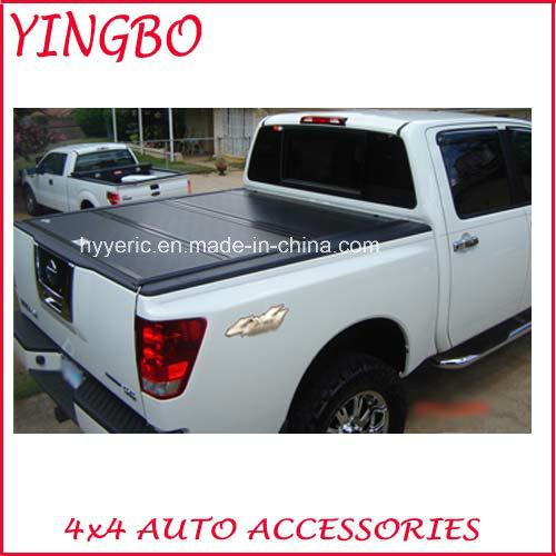 China Aluminum Hard Tri Fold Tonneau Cover For Ford F250 F350