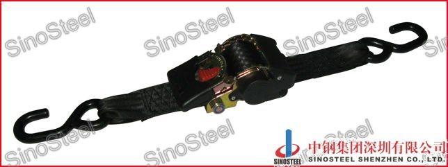 Retractable Ratchet Straps >> Hot Item 2 50mm Retractable Ratchet Tie Down