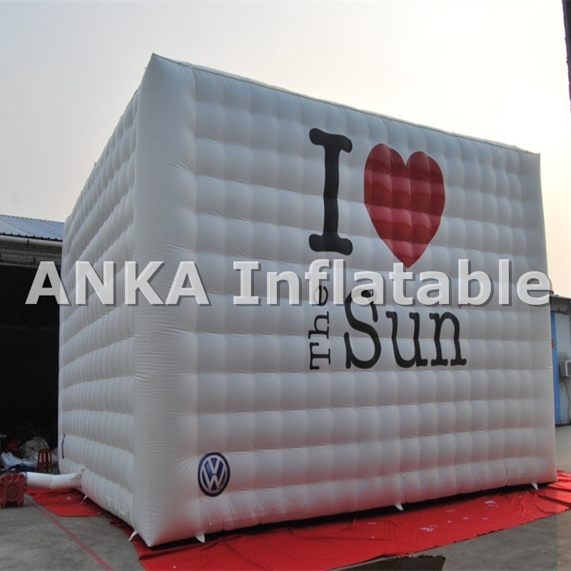 Inflatable Advertising Cube Marquee Giant Tent