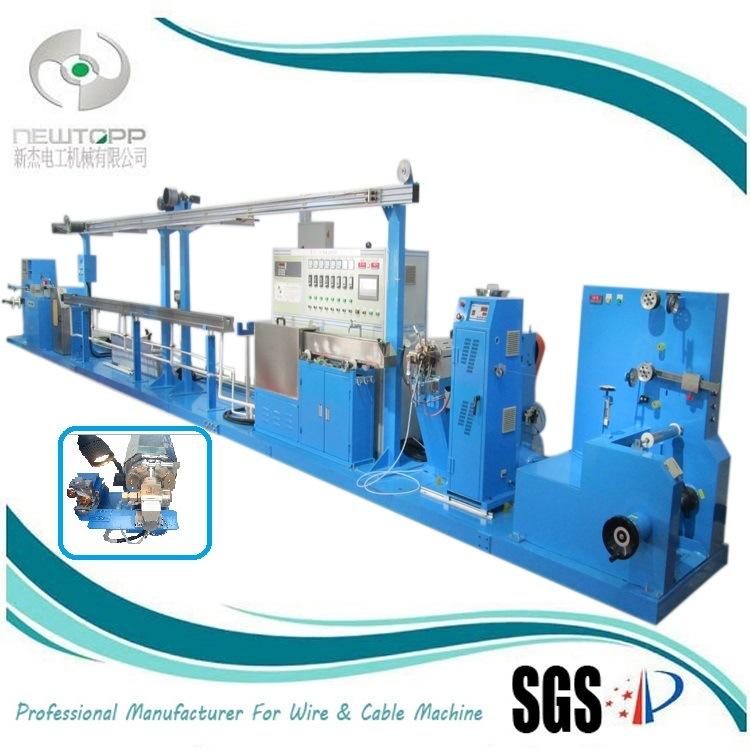 China 15mm Teflon Micro-Fine Coaxial Extruding Machine - China ...