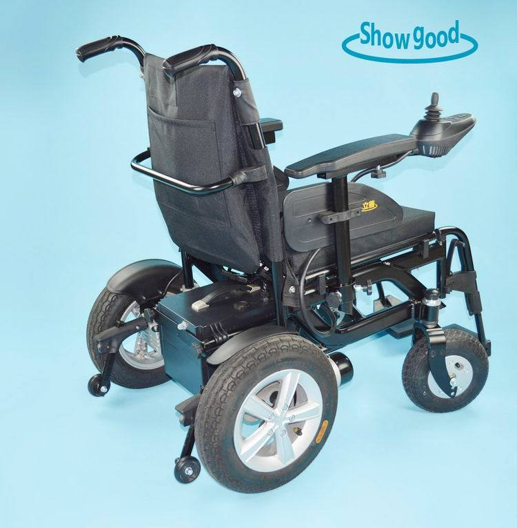 China Showgood Folding Disability Wheel Chairs Wheelchair - China ...