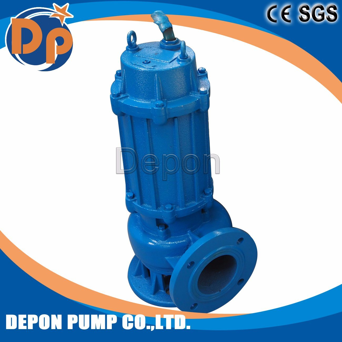 Single Phase Submersible Pump Motor 3kw 4HP 1400 Rpm pictures & photos