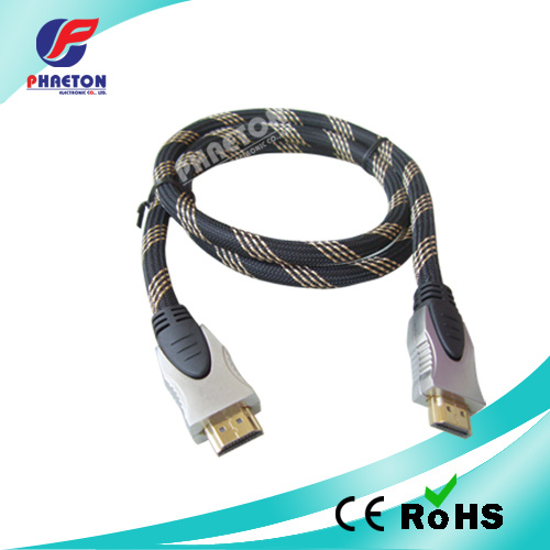 AV Data Communication HDMI Cable with Ethernet Ferrite (pH3-1036) pictures & photos