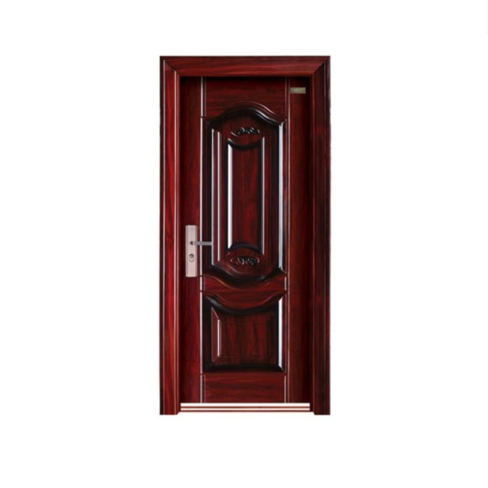 Chinese Simple Design Steel Security Front Door China Steel Door Security Door