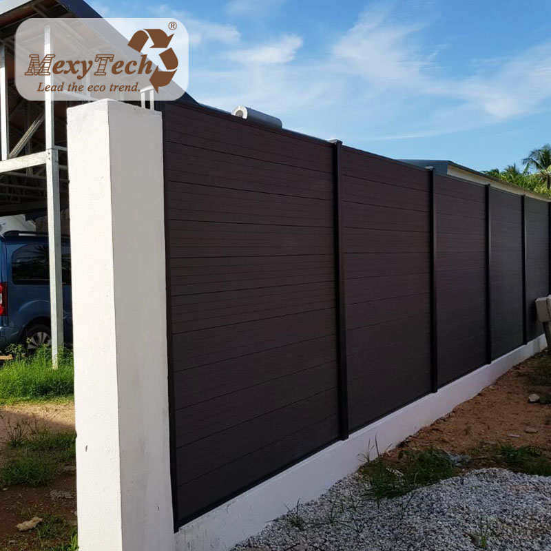 China Best Fence Manufacture Waterproof Wood Plastic Composite