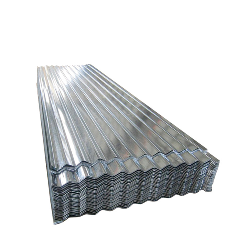 China Building Material Galvanized Corrugated Steel Trapezoidal Metal Roofing Sheet China Roofing Sheet Roofing Materials