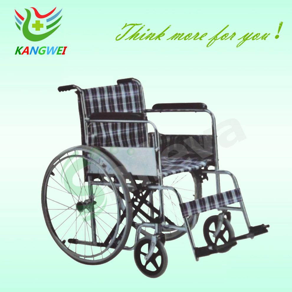 China Folding Wheelchair Manual Wheel Chair for Disabled Man Photos ...