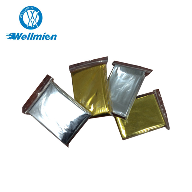 High Quality First Aid Gold Silver Emergency Blanket pictures & photos