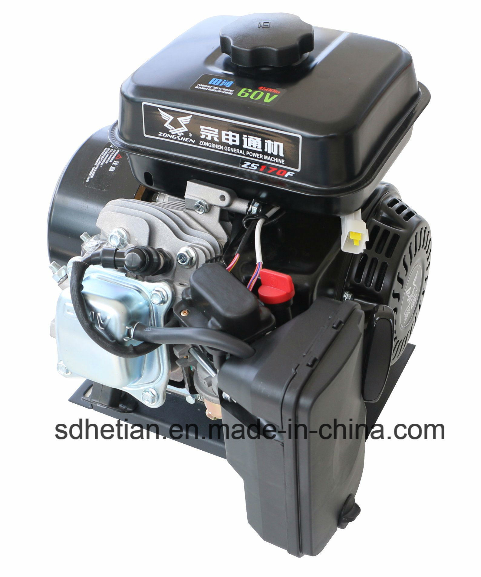 China 170f Electric Vehicle Range Extender Generator Car Gasoline