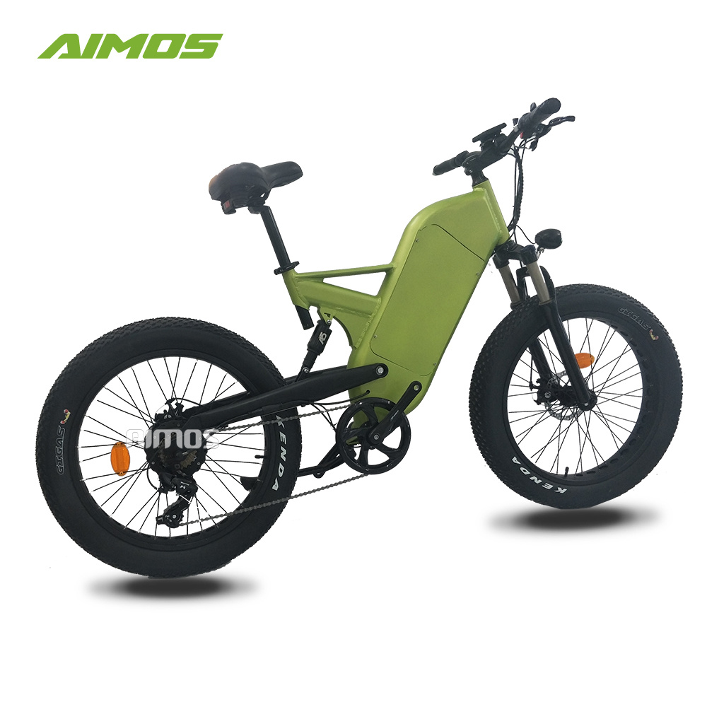 898445853aa China Double Suspension Fat Tire Mountain Trek Electric Bicycle ...
