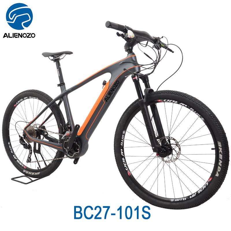 [Hot Item] Aluminum Fork Material and Carbon Frame Material Mountain Bike