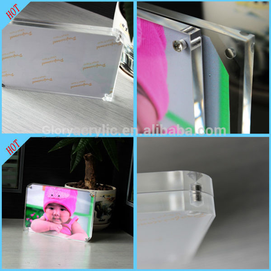 High Quality Photo Picture Frame Magnetic Acrylic Photo Frame pictures & photos