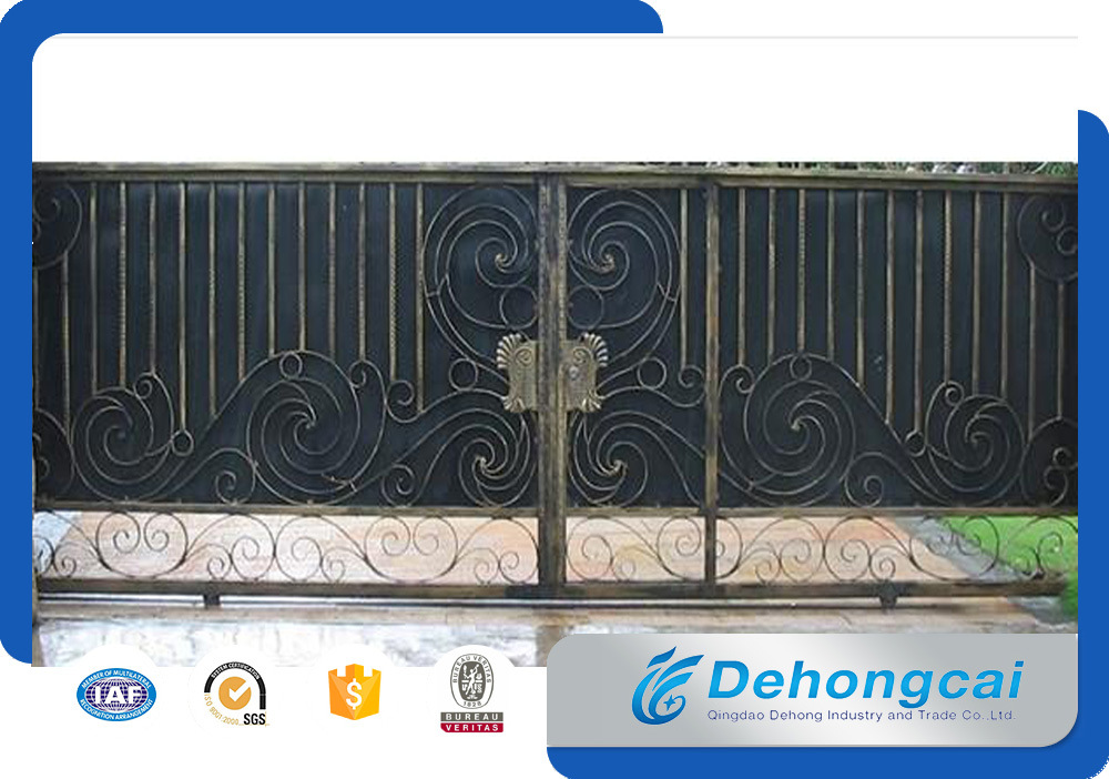 House Iron Gate Design / Steel Sliding Gate / Aluminum Gate Designs pictures & photos