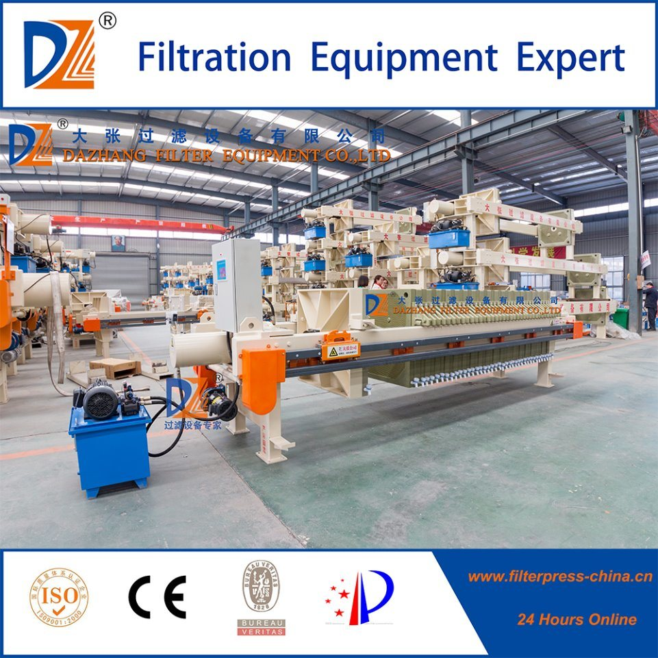 High Efficiency Automatic Membrane Filter Press 870series