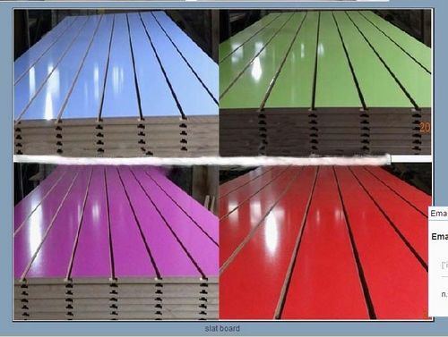 Display High Quality UV Faced MDF Slatwall
